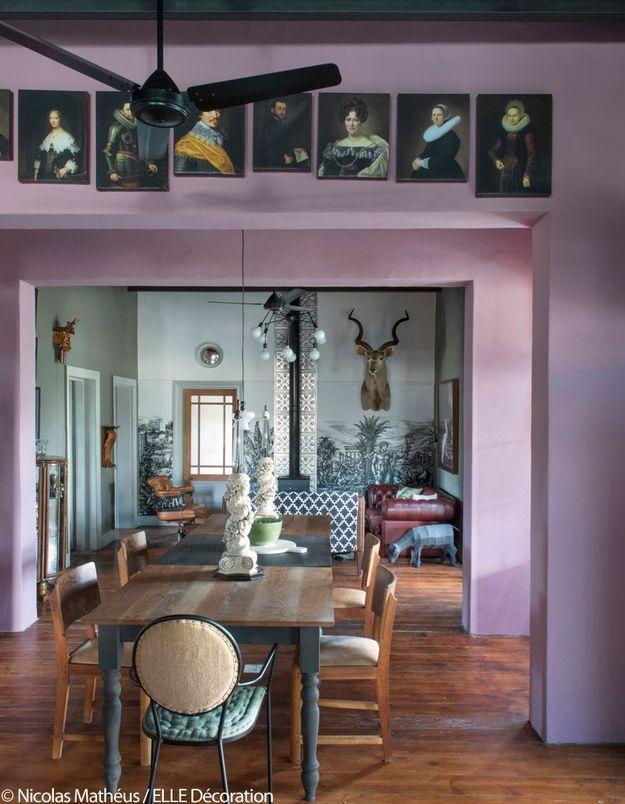 Salon salle à manger comme au musée
