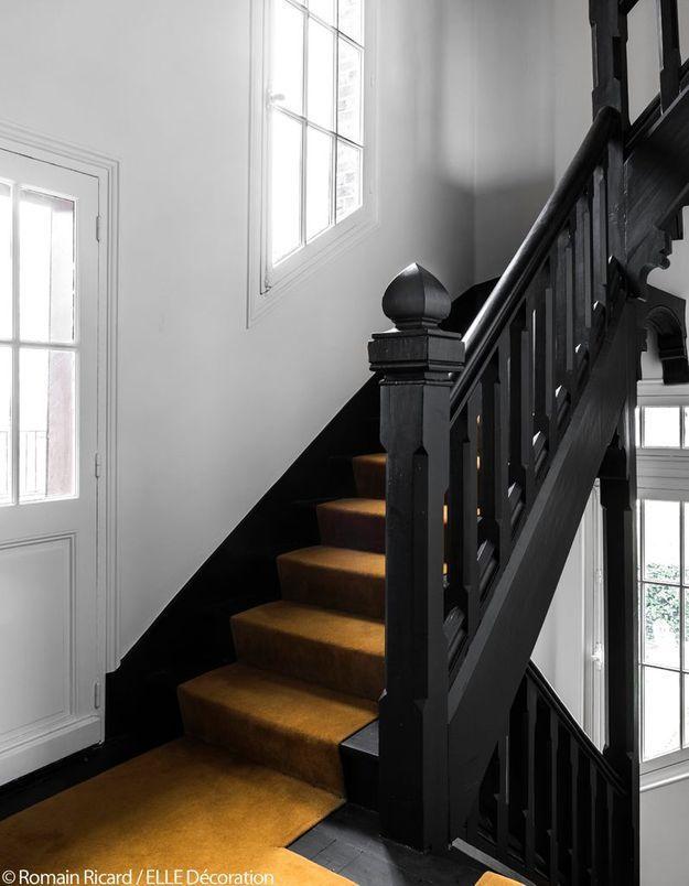 L'escalier noir