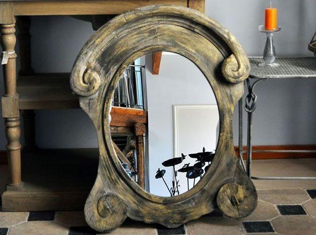 Miroir chehoma volutes