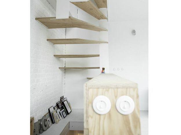 Un escalier en colimaçon