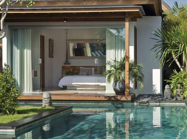 Villa avec piscine indonesie