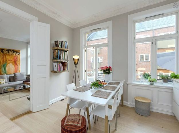 Grand appartement style scandinave oslo