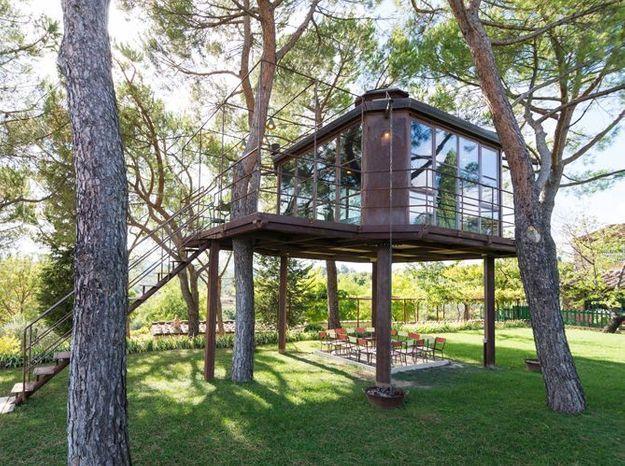 Maison dans les arbres florence