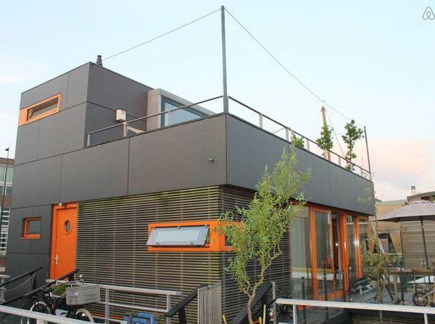 Maison sur l eau design