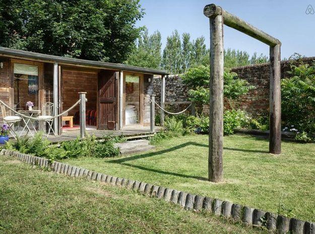 Cabane cottage anglais