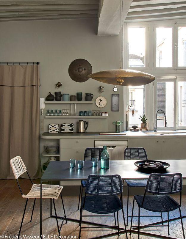 La cuisine-salle à manger comme un voyage