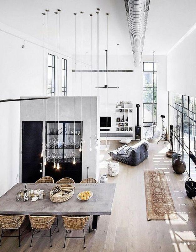 Un loft de rêve moderne