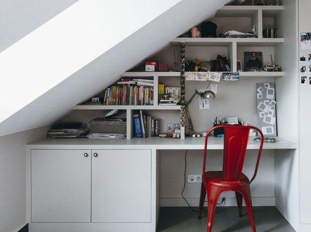 Un bureau d'ado bien aménagé