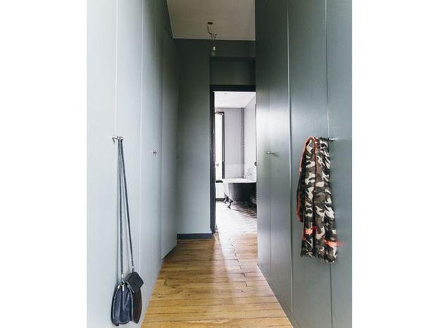 Un dressing comme un couloir