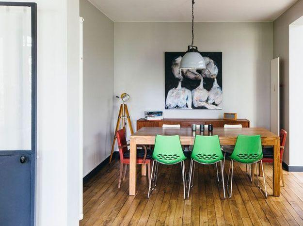 Une petite salle à manger