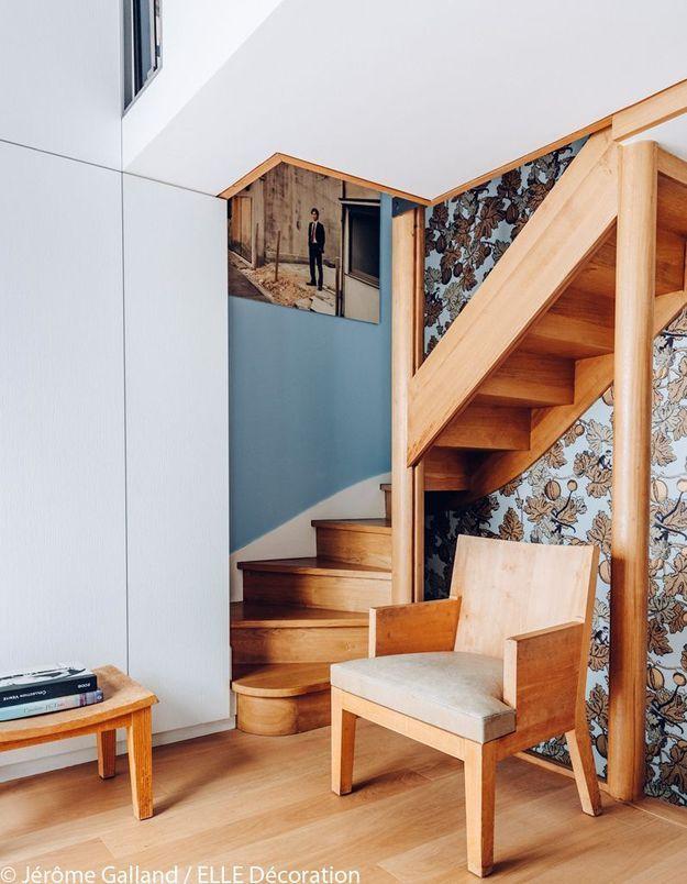 Un escalier chaleureux