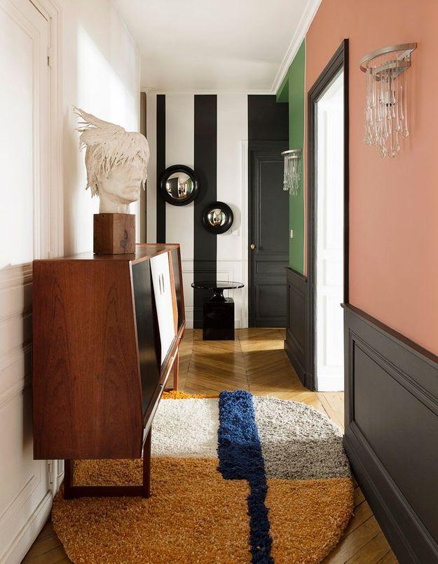 Couloir haut en couleur