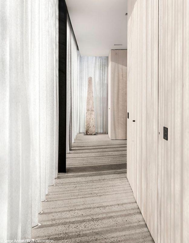 Un couloir très lumineux