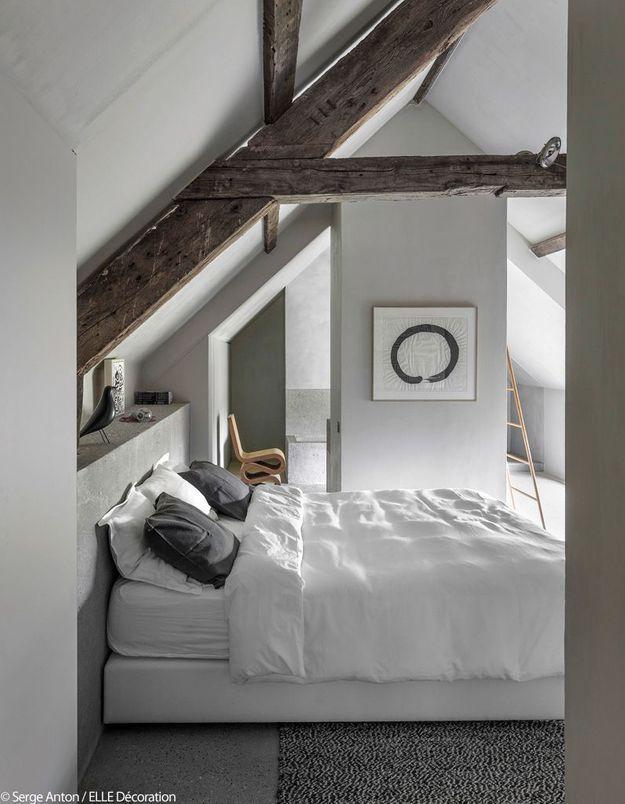 Une jolie chambre sous les toits