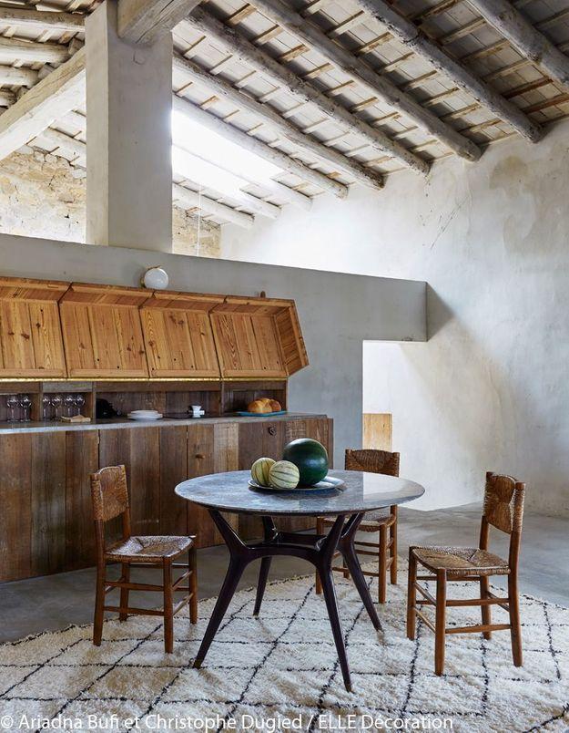 Une cuisine cachée