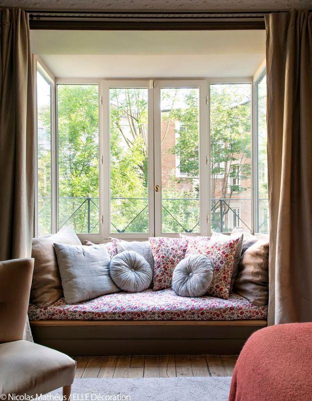 Bow-window en mode boudoir