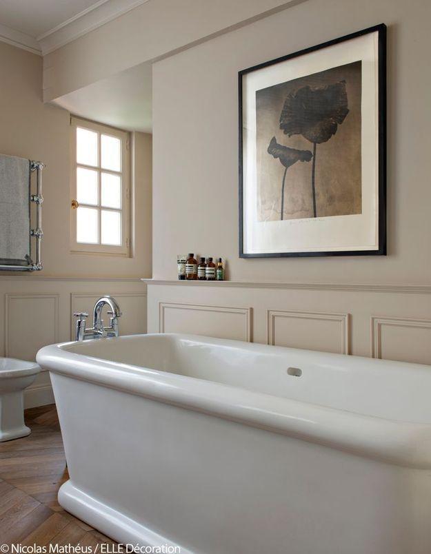 Salle de bains ambiance californienne des années 50