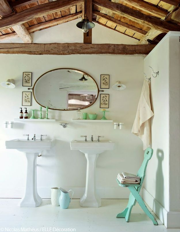 La salle de bains à l'anglaise