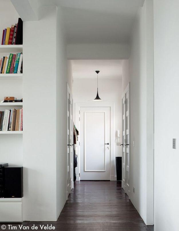 Un couloir virginal