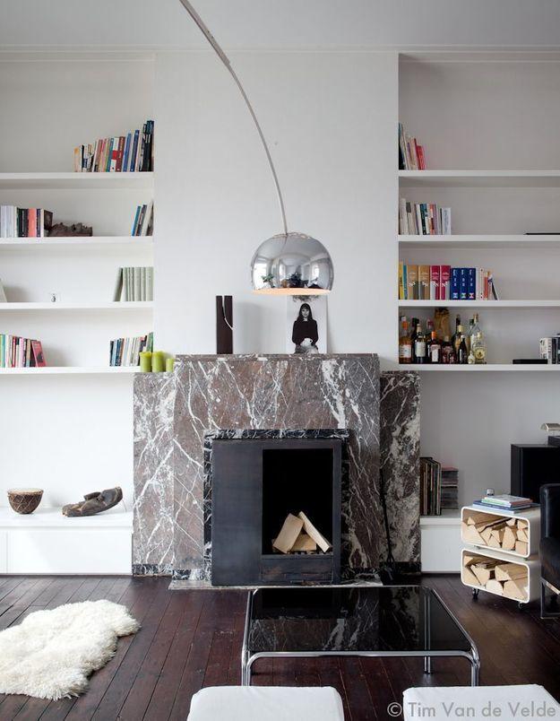 Un salon minimal mais confortable