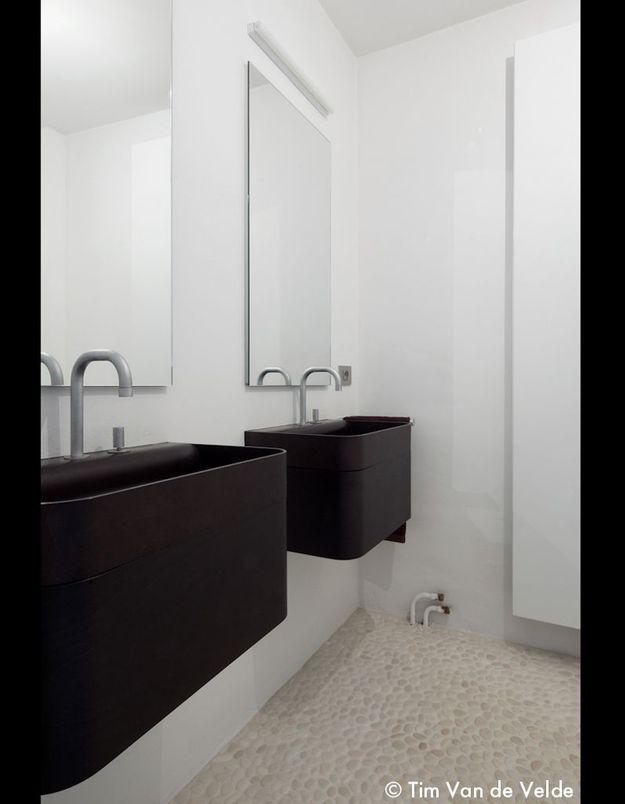 Une salle de bain chic