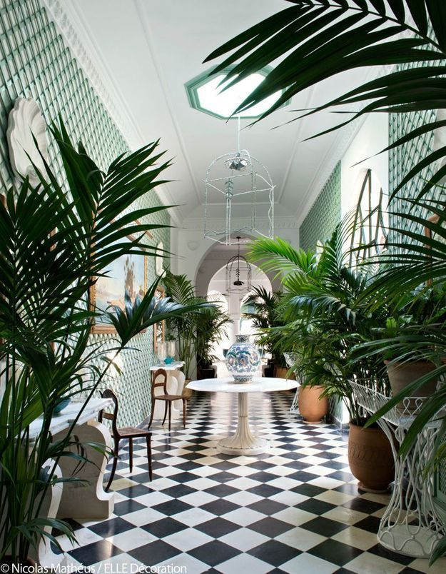 Le couloir végétal