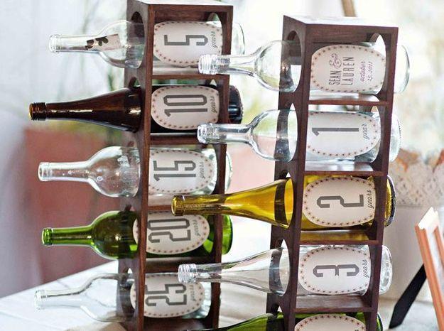 Réutiliser des bouteilles en verre