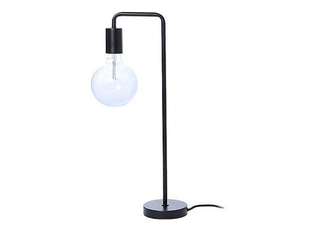 Une lampe de table minimaliste
