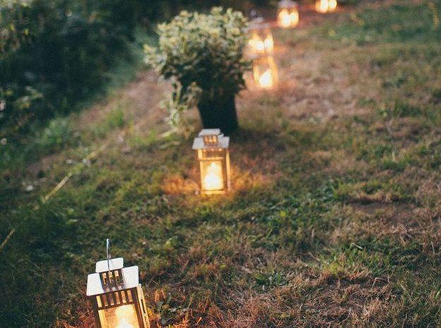 Des lanternes pour le jardin
