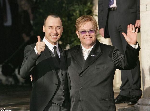 Le mariage d'Elton John et David Furnish