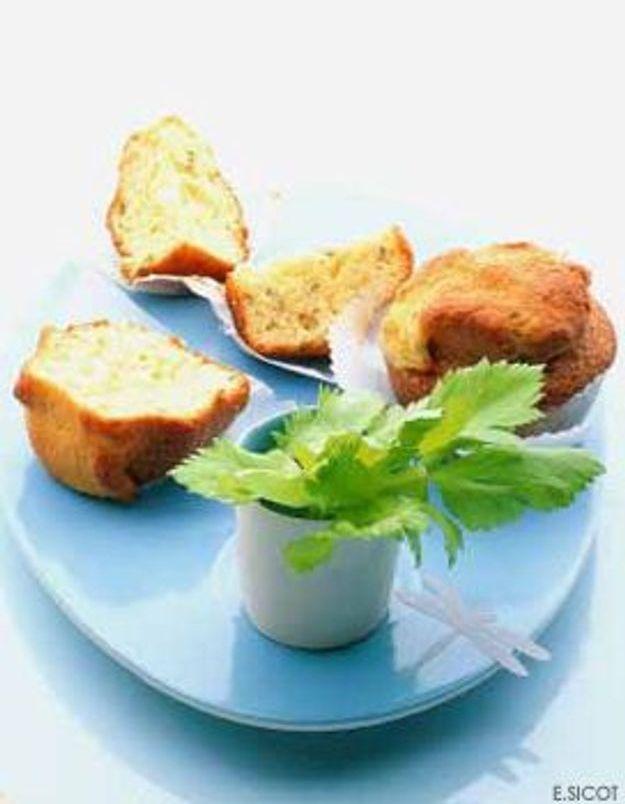 Petits gateaux au yaourt et au céleri