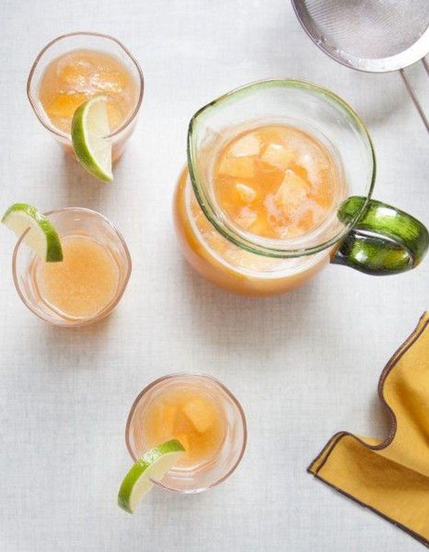 Dessert léger : Agua fresca estivale