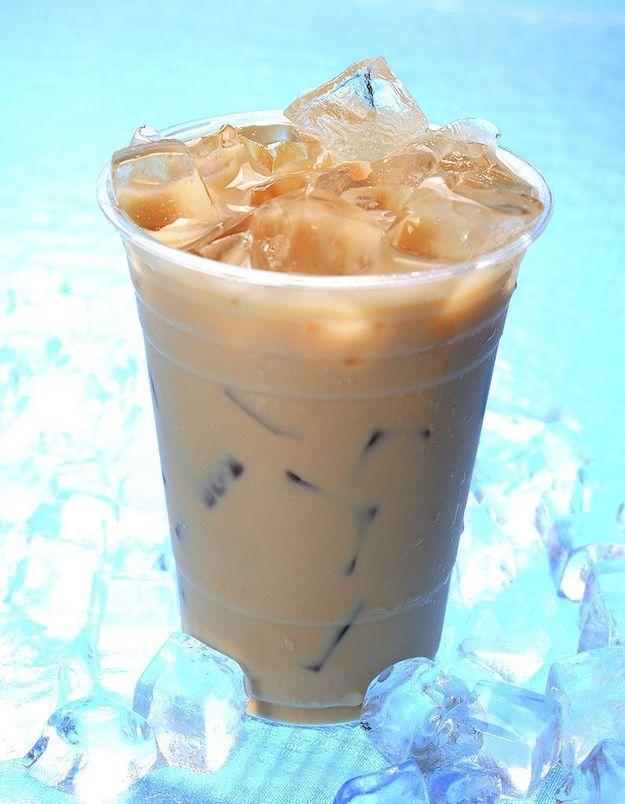 Dessert léger : Café frappé