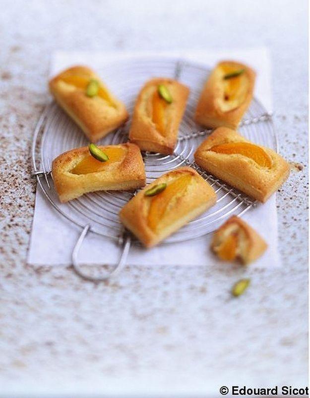 Financiers abricots et huile d'olive