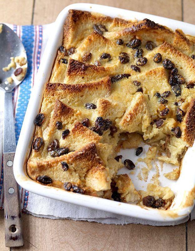Un bread & Butter pudding