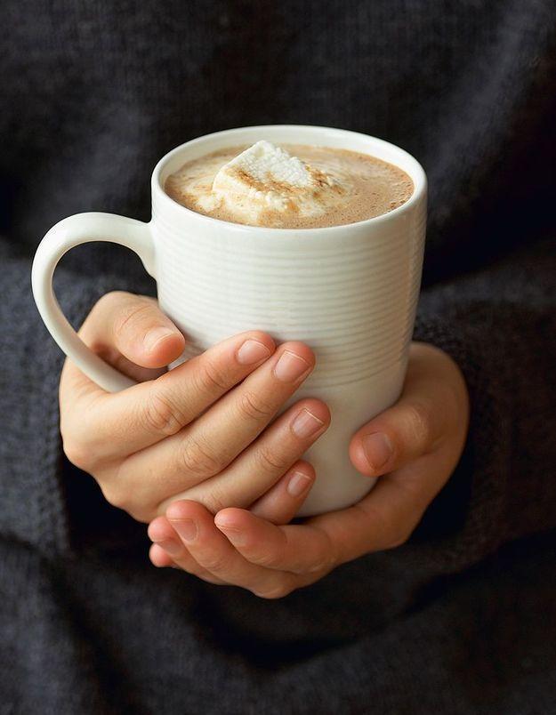 Un café macchiato