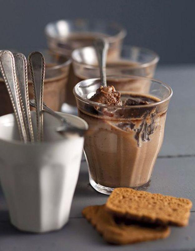 Crème spéculoos chocolat