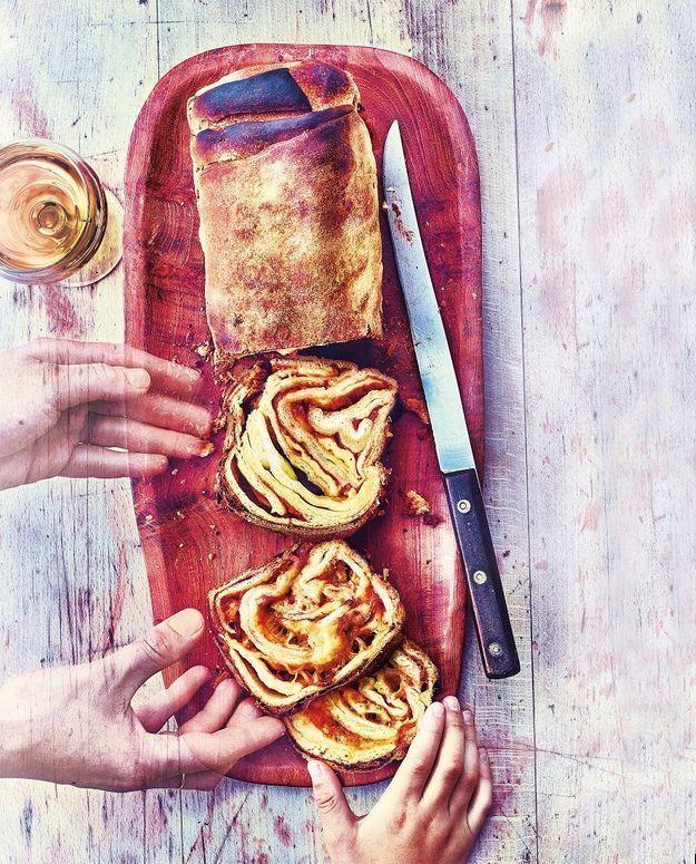 Cuisine recettes été grandes tablées : Scaccia