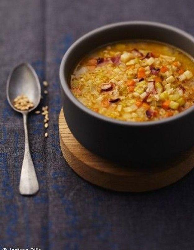 Soupe de légumes : Soupe à l'ancienne