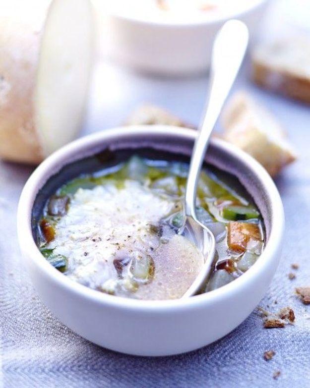Soupe de légumes : Soupe de légumes à la Tête de Moine
