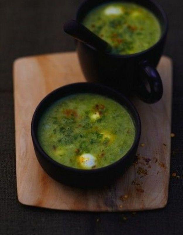 Soupe de légumes : Soupe verte complète