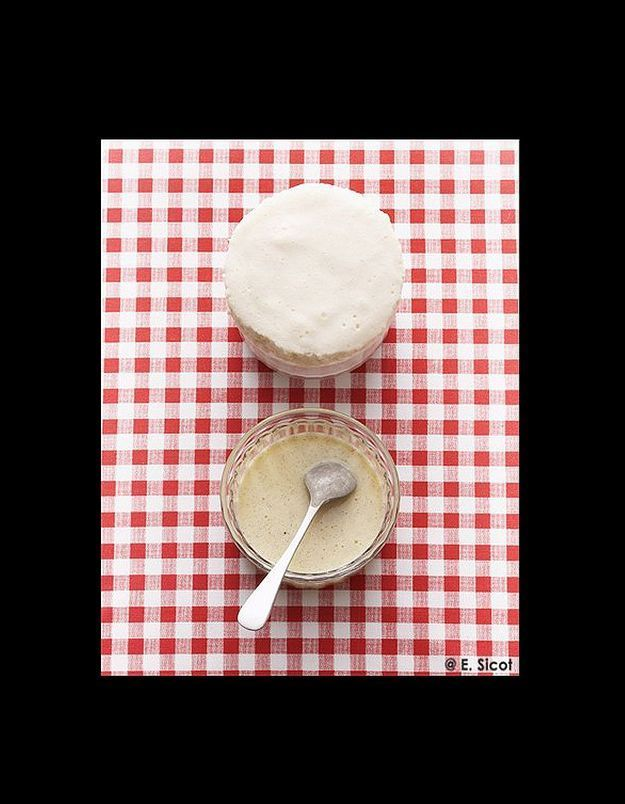 Soufflé glacé au lait concentré