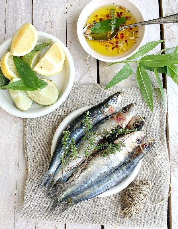 Facile, le carpaccio de sardines !