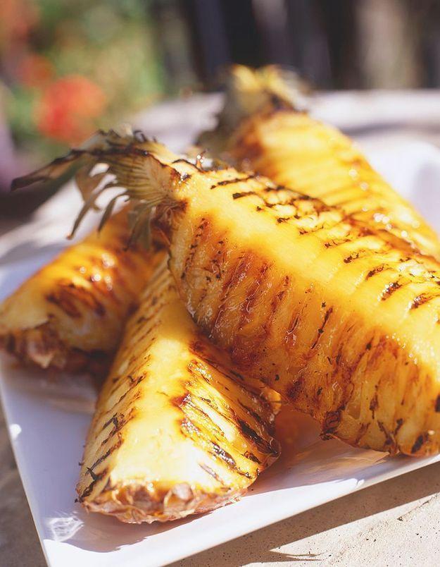 Transformer un ananas peu sucré