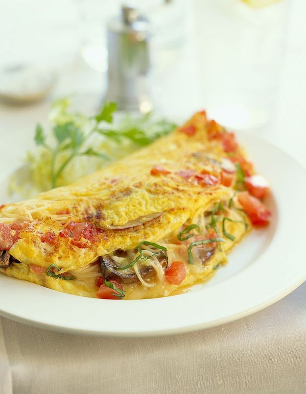 Une omelette pour les grands soirs, c'est aussi possible