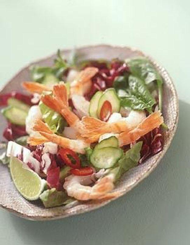 Salade de crevettes à la thaïlandaise