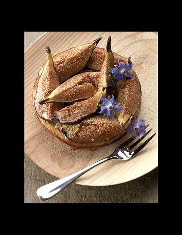 Tartelettes figues-amandes