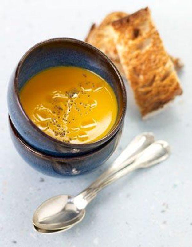 Crème orangée