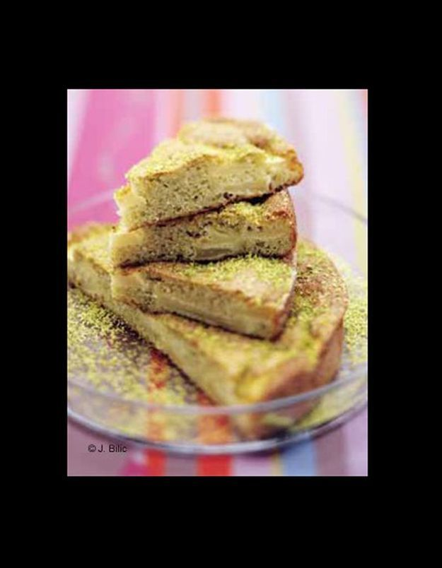 Biscuit macaron à la pomme