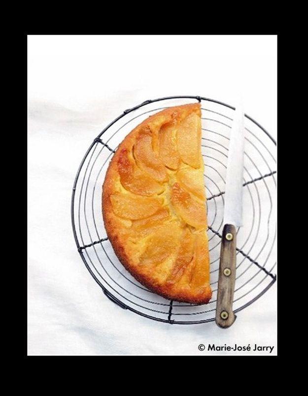 Gâteau renversé pommes ou poires